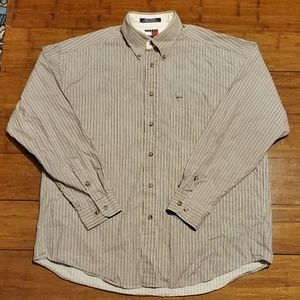 Tommy Hilfiger Men's Casual Button Down Shirt